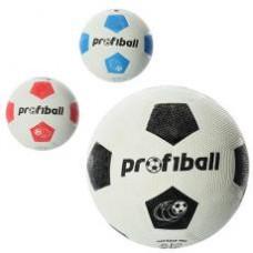 Мяч футбольный VA 0013 ( размер 5, резина Grain, 350г, Profiball, сетка, в кульке,
