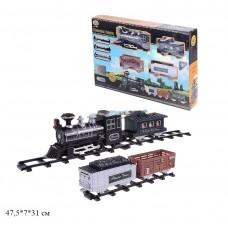 Железная дорога PLAY SMART 0607 батар.муз.свет.дым кор.47,5*7*31