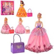 Кукла M 4100 UA 30см, шарнирная, сумочка, микс видов, в кор-ке, 32,5-33-5см