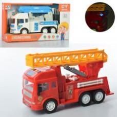 Машинка 8030-2A-3A инер-я,27см,вышка,муз,зв,свет,подв.дет,2вида,бат,кор, 35,5-19,5-12,5см