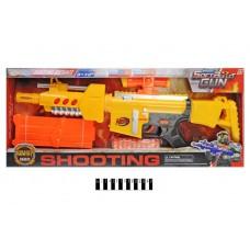 """Автомат """"NERF"""" на поролонових кулях (на батарейках, коробка) JBY-006 р.63*26*6,5см."""