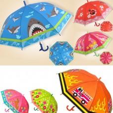 Зонтик BT-CU-0017 цветной 6рис.50см