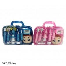 Доктор HZ626 набор стоматолога 2цв.чемодан 30*8,6*20