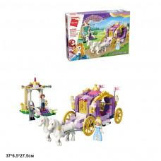 Конструктор BRICK 2605 Princess Leah карета принцессы 374дет.распак.кор.37*6,5*27,5