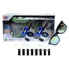 Набір шпигуна (2 годинника-рації+окуляри, коробка) ZR807 р.26,5*16,5*5см.