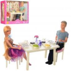 Семья DEFA 8387-BF ( 28см и 29см, шарнирная, столовая, посуда, 2 вида, в кор-ке,34-25-13см