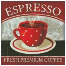 "Набір з алмазною мозаїкою ""Преміум кава"" 40*40см"