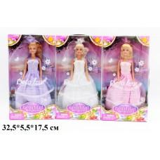 Кукла DEFA 29см 8065 невеста 3цв.кор.32,5*5,5*17,5