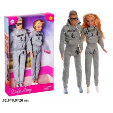 Кукла DEFA 29см 8360 с парнем кор.32,5*5,5*20