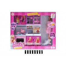 Кухонний набір з лялькою (коробка) X221P3 р.40,2*33,2*10см.
