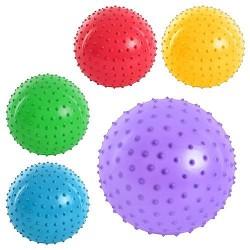 Мяч массажный MS 0022 (4 дюйма, 5 цветов, 35г