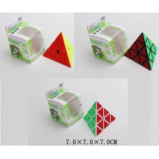 Кубик-логика 8850/51/52 треугольный,3 вида,в коробке 7*7*7см