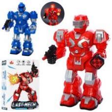Робот 27163 (24см, ходит, звук, свет, 2вида, на бат-ке, в кор-ке, 15,5-24-9см