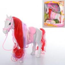 Лошадь 686-772 16см, расческа, заколочки, в кор-ке, 17,5-23-6,5см