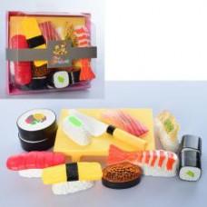 Продукты 228E8-5 суши-сет, 9шт, лопатка, 3цв, в кор-ке, в карт.оберт, 16-14-6,5см