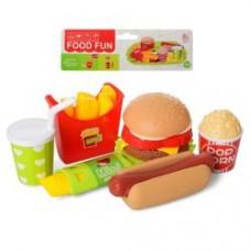 Продукты 6621-1 фаст-фуд, посуда, в кульке, 18,5-26-5см