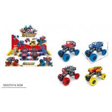 Джип KLX500-457A супергерои инерц.4в.8шт.в кор.50*14,5*37 /12