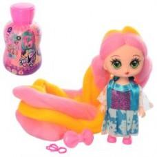 Кукла XM1167-8-9-70-1-2 CL, 11,5см, заколочка, микс видов, в колбе-бутылке, 14,5-8-9см