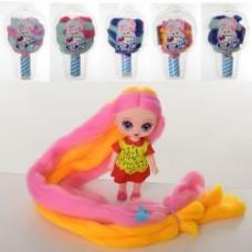 Кукла XM1174-5-6-7-8-9 CL,11,5см, аксессуары, 6видов, в слюде(мороженое), 21-12-7см