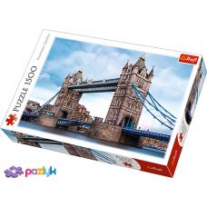"""Пазли - (1500 елм.) - """"Тауерський міст через річку Темзу"""" / Trefl"""