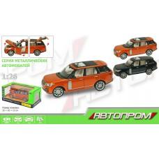 """Машина метал 68263А """" АВТОПРОМ"""" Range Rover 2цвета"""