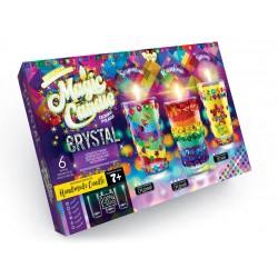 """Набір креативної творчості """"MAGIC CANDLE CRYSTAL""""парафінові свічки з кристалами MgC-02-01"""