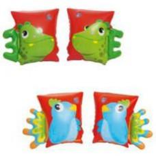 Нарукавники 32115 BW  23-15см, 2 вида (попугай, дракон)