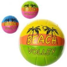 Мяч волейбольный EV 3205  офиц.размер,ПВХ 2мм, 2слоя,18панелей, 260-280г, 3цвета