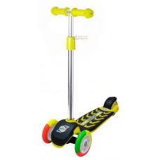 Самокат лимон цветные колеса