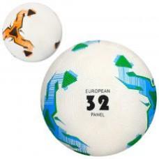 Мяч футбольный VA 0038  размер 5, резина Grain, 350г, 2цвета, в кульке,