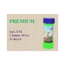 Мыльные пузыри1-02 Premium 60 мл. 12 шт коробочка