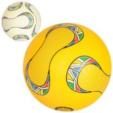 Мяч футбольный VA 0066 размер 5, резина, гладкий, 380-400г, 2цвета, в кульке