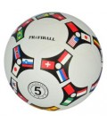 Мяч футбольный VA-0081 размер 5, резина, гладкий, 380-400г, 1вид, в кульке