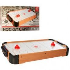 Хоккей 2355 воздушный,дерев,70-38-в9см,шкала ведения счета, на бат-ке, в кор-ке, 71-39,5-10см