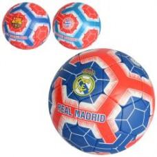 Мяч футбольный 2500-163 размер 5, ПУ1,4мм, ручная работа, 32панели,400-420г,3вида(клубы),кул