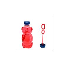 """Мыльные пузыри """"150мл Медведь"""" (цветная жидкость)12шт"""