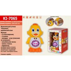 Интерактивное животное KI-7065 НА УКР. Утенок,4стихотворения,3сказки,мелодии,запись голоса,к