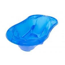 """Ванночка """"Комфорт"""" з термометром 2 в 1 анатомічна (Прозоро-блакитний)/""""TEGA"""""""