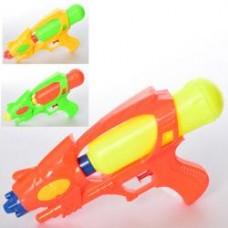 Водяной пистолет MR 0295 размер средний, 27см, 3цвета, в кульке, 15-27-5,5см