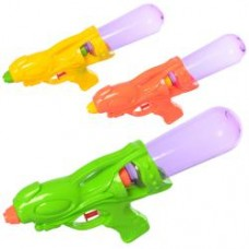 Водяной пистолет MR 0303 размер средний, 26см, 3цвета, в кульке, 26-11-5см