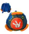 Рюкзак MP 1255  размер средний,27-27-6см,1отдел,заст-молния,1внутр.карман,в кульке,27-27-2,5см