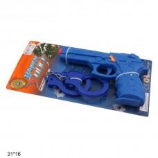 Полицейский набор 255-7 батар.муз.свет.лист 31*16