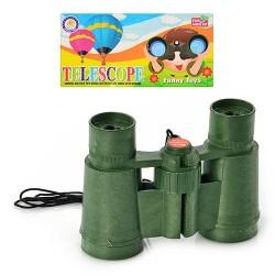 Бинокль WJL 7853 C1 11-7,5-3,5см, шнурок, в кульке, 15,5-14-3,5см