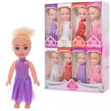 Кукла 8856A (288шт) 15см, в кор-ке, 16шт(8видов) в дисплее, 26-34-8,5см