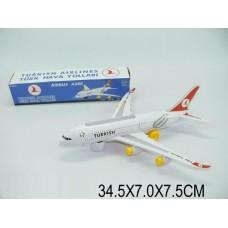 Самолет батар. 616-TK (1145820) свет, звук, в коробке 34,5*7*7,5см