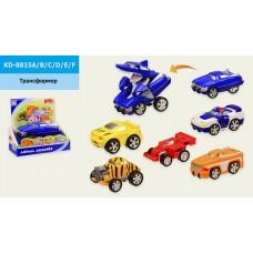 Трансформер KD-8815A/B/C/D/E/F (6 видов, в откр. кор.21*11*19 см, р-р игрушки – 13.5*10*7.5