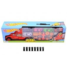 """Автовоз """"Hot Wheels"""" з 6 машинками, в коробці 8820 р.48*10,5*13,4см"""