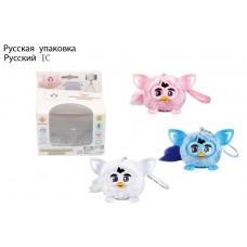 Мягкая интерактивная игрушка JD601A  малыш Эльф 3 цвета,  в коробке 11,5*12*8 см