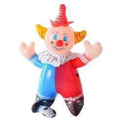 Надувная игрушка MS 0649 клоун, пищалка,35см, в кульке, 15-13см
