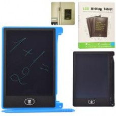 LCD планшет B044B для рисования, 12см, магнит для крепления,2цв, бат(таб), в кор-ке, 9-12-1см